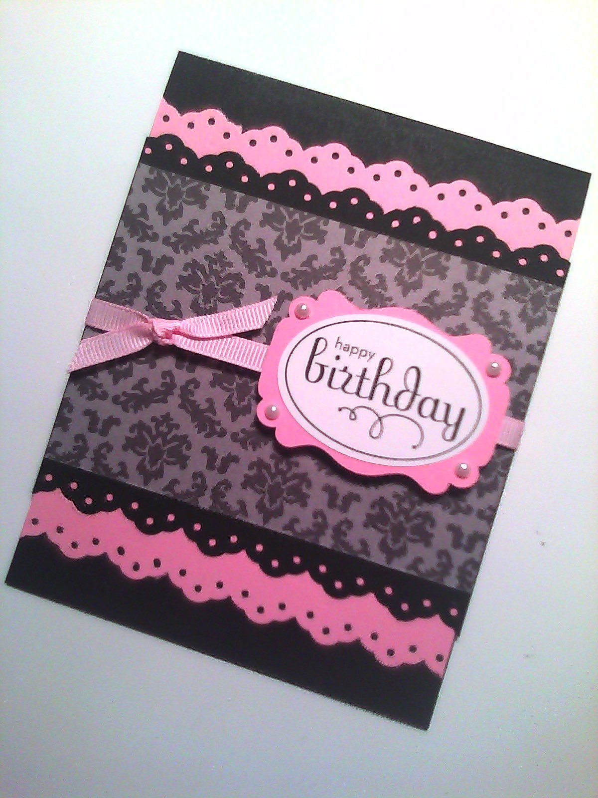 Sistochris Scrapbooking And Paper Crafts Handmade Stamped Greeting