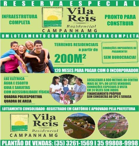 VILA REIS RESIDENCIAL