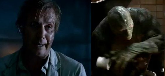 The Amazing Spider-Man 2012 The Lizard Unveiled - Rhys Ifans as Dr. Curt Connors aka The Lizard