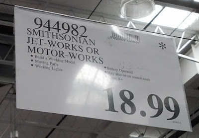 Deal for the Smithsonian Motor-Works or Jet-Works at Costco