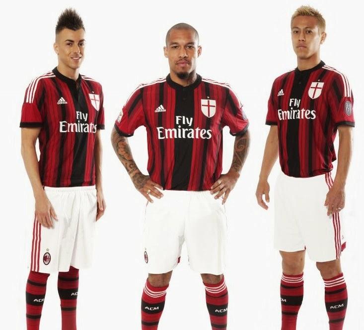 Milan 14-15 Home Shirt