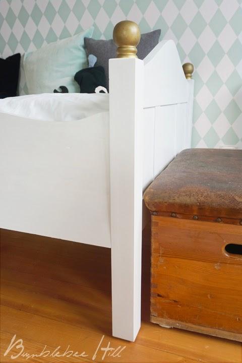 bumblebee hill es ist vollbracht neues zimmer im harlekin look. Black Bedroom Furniture Sets. Home Design Ideas