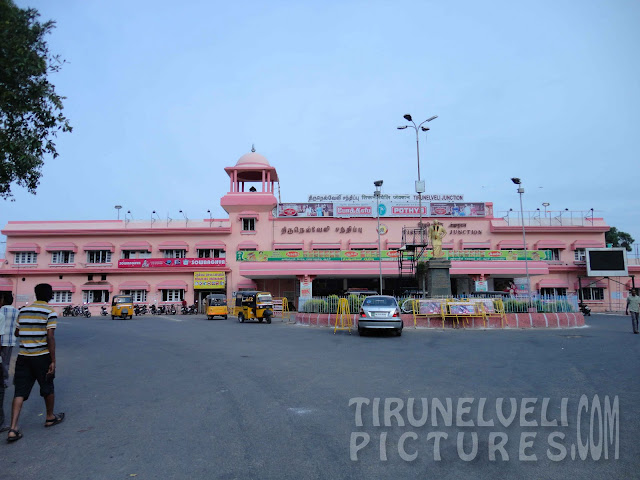 Tirunelveli Junction Railway Station  -© www.tirunelvelipictures.com ©