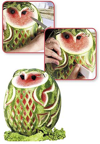 Garnish - Cuchillos para decorar fruta ...