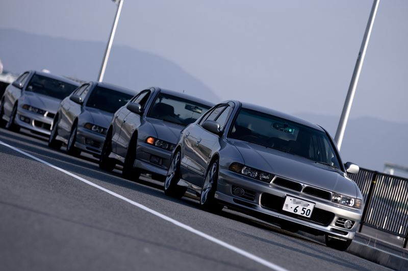 Mitsubishi Galant, EA, piękny design, ciekawy samochód, V6, zdjęcia, srebrny, silver, front, przód