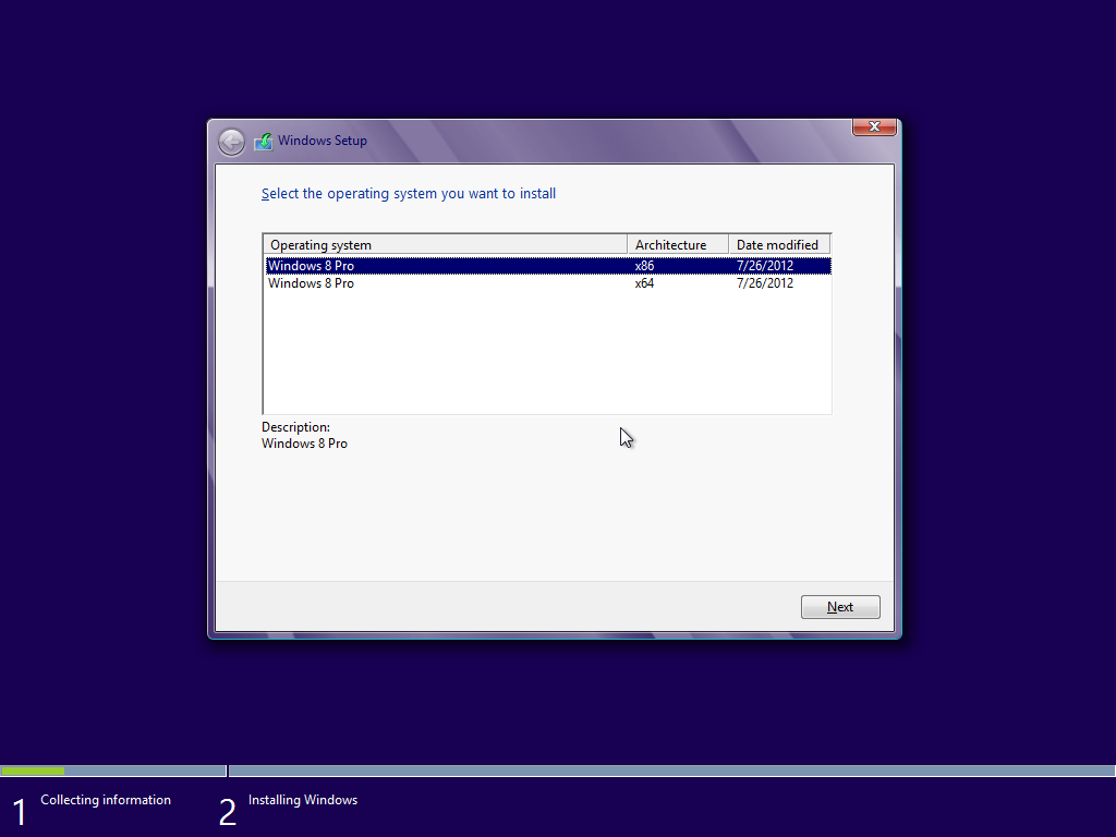 Windows 8 PRO VL (32 & 64 Bit) Two Edition