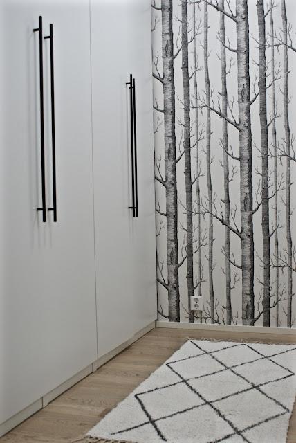 cole & son, svanefors, ryijymatto, minimalistinen, valkoinen sisustus