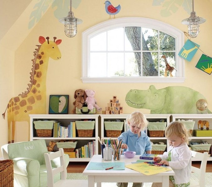 The dream house project kids 39 play room for Kids play rooms