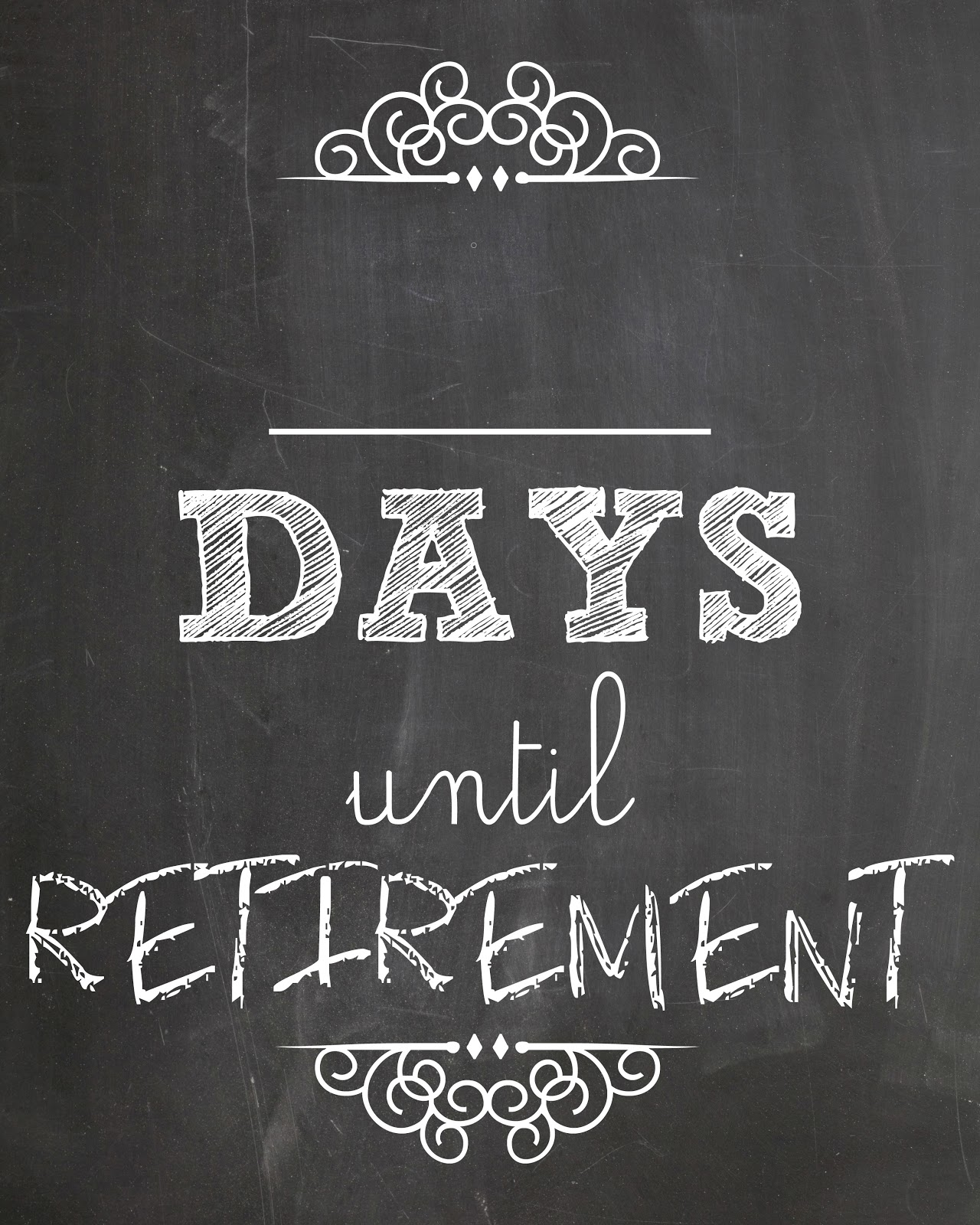 Printable Countdown Calendar For Retirement | Search Results ...