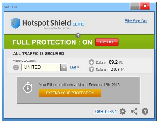 Hotspot Shield VPN v4.20.0 Elite Edition