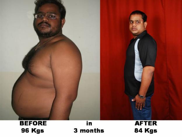 Herbalife shake weight loss results