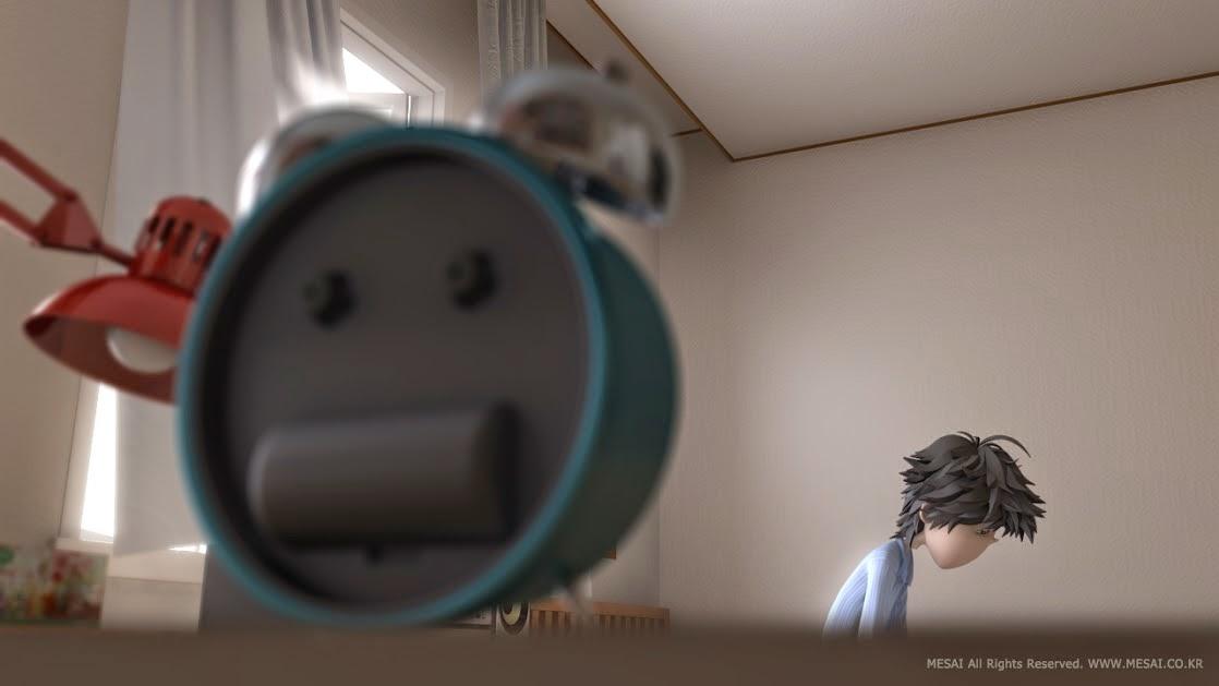 alarm kisa animasyon film