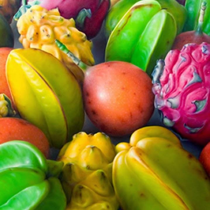 cuadros-modernos-hiperrealistas-de-frutas