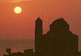 Byzantium sunset