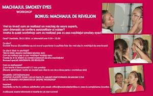 Invata machiajul Smokey eyes!