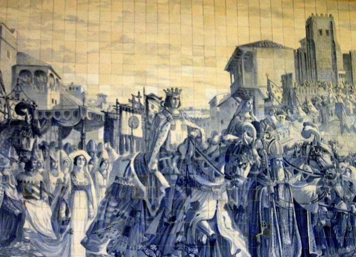 Lisbona e oltre sintra palazzo nazionale - Azulejos levante ...