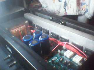 MERAKIT POWER AMPLIFIER