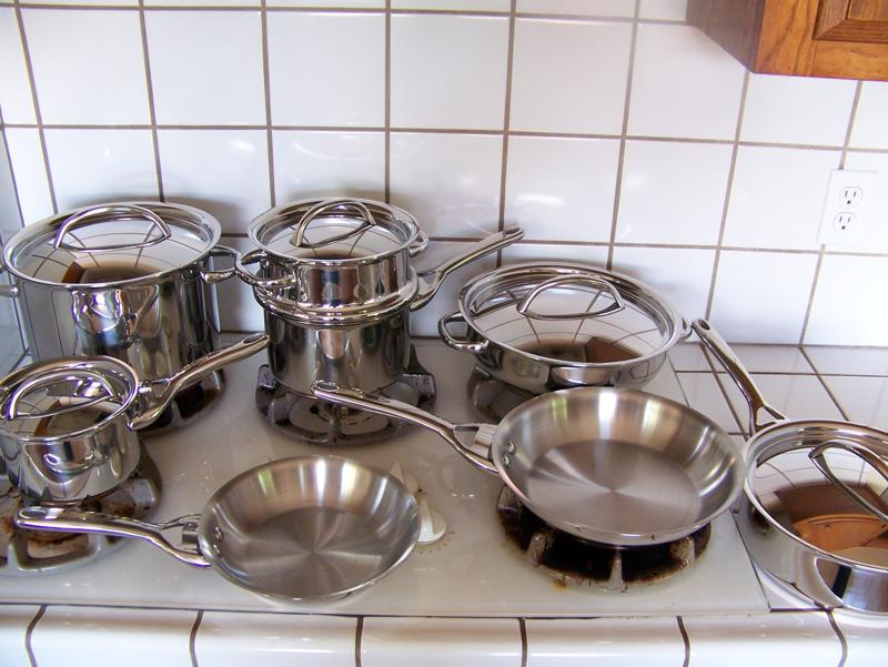Copper pots and pans australia made in portugal brass for Kitchen set bartan