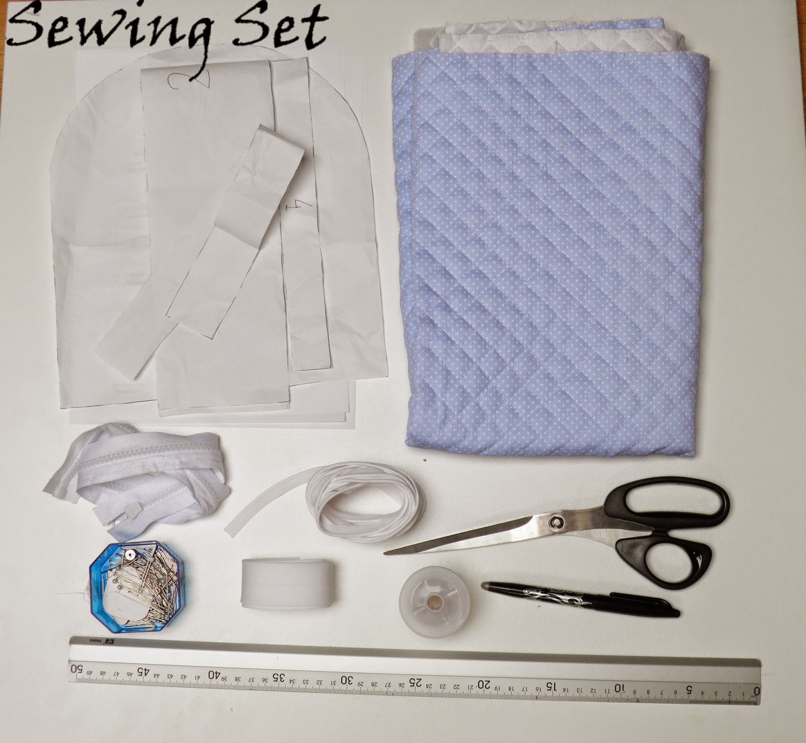 Sewing Set: TUTORIAL MOCHILA INFANTIL DE PIQUÉ
