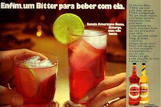 Propaganda Bitter Garcia - 1972; 1972; os anos 70; propaganda na década de 70; Brazil in the 70s, história anos 70; Oswaldo Hernandez;