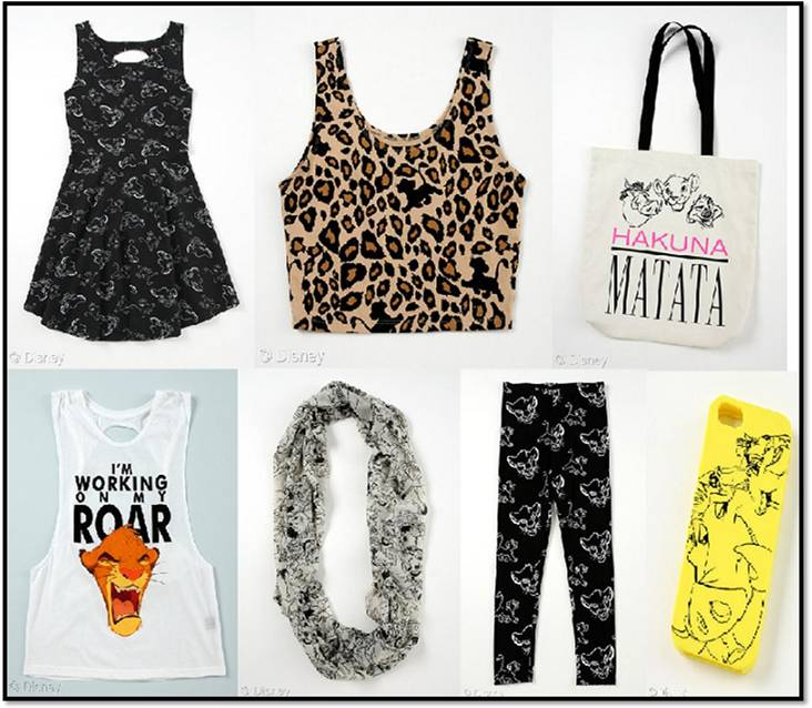 WetSeal 20th anniversary Lion King