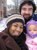 Our first family snow