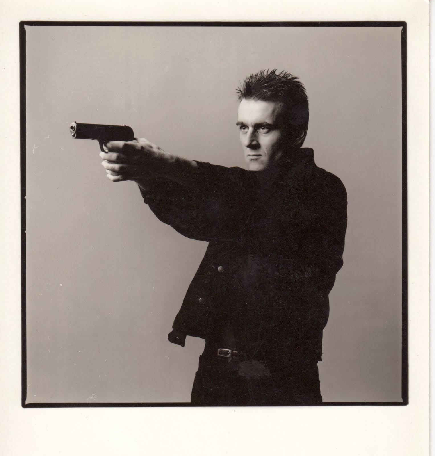 Zbigniew Karkowski shooting the bullshit
