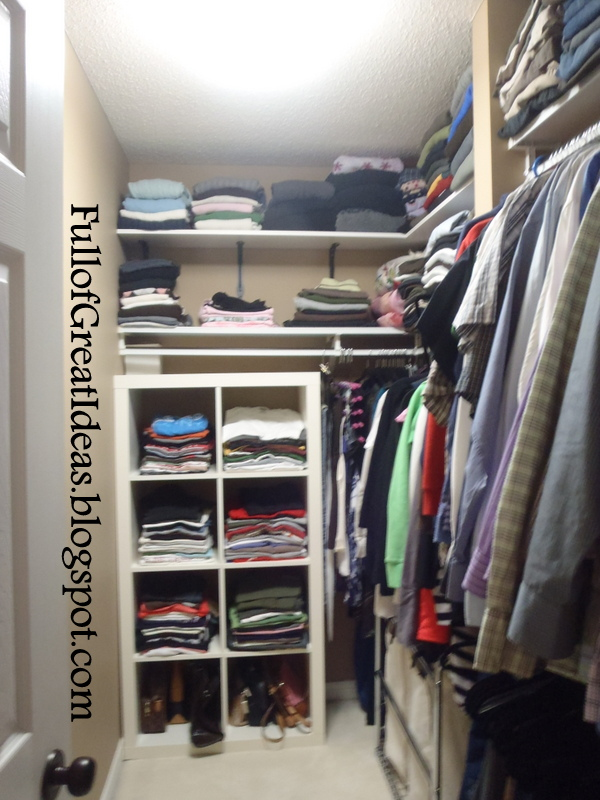 Transforming Wasted Space In Walk In Closet
