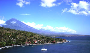 Mount Agung Viewing from Amed