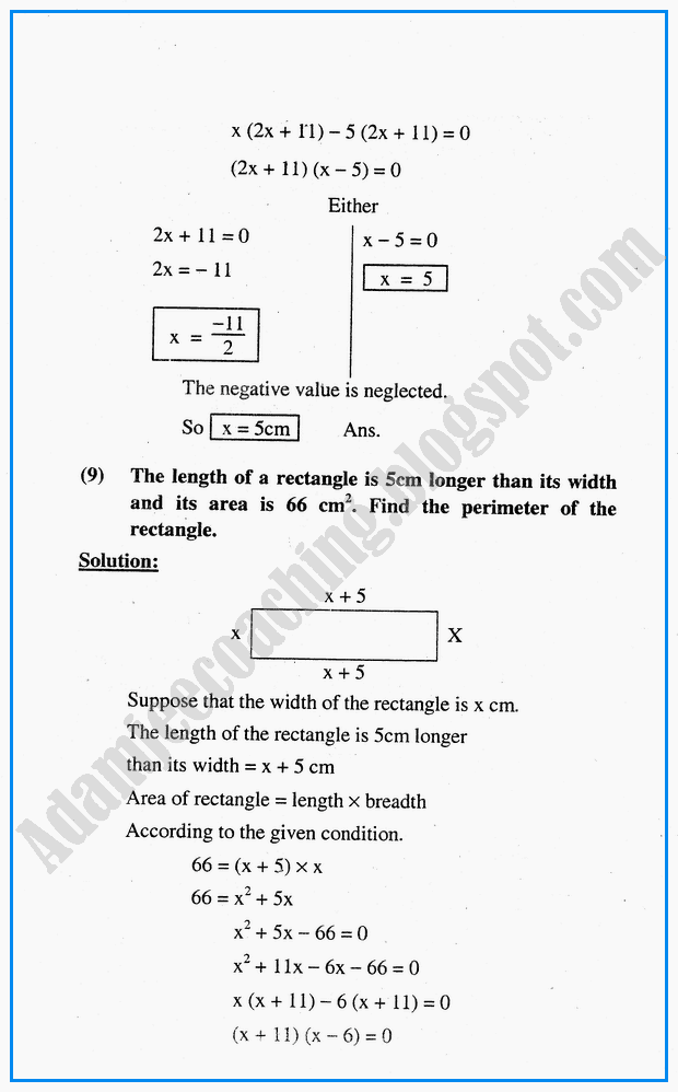 algebraic-sentences-question-answers-mathematics-10th