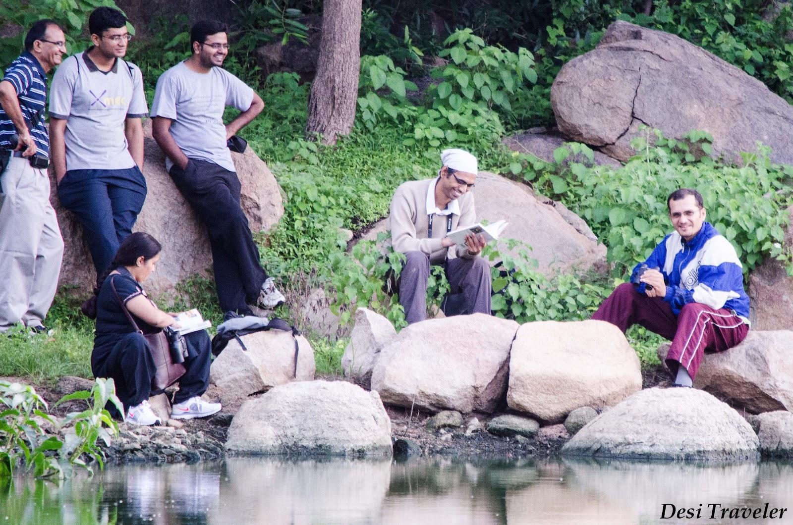 diyanat ali founder of GHAC at durgam cheruvu in hyderabad