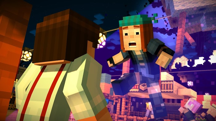 Minecraft Story Mode Apk Obb V1  Torrent Play