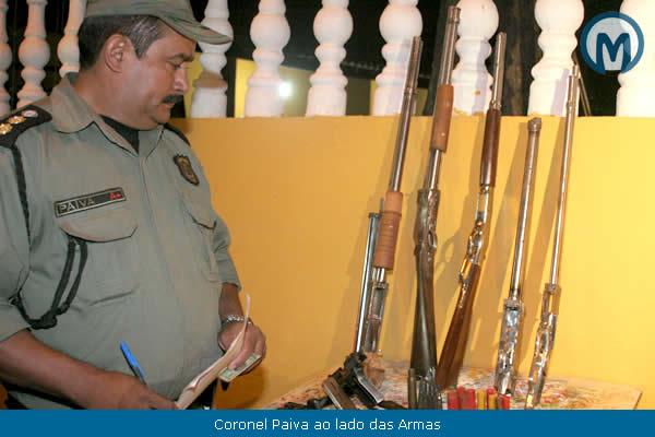 Camocim pol cia 24h juazeiro pm apreende arsenal em for Oficina armas