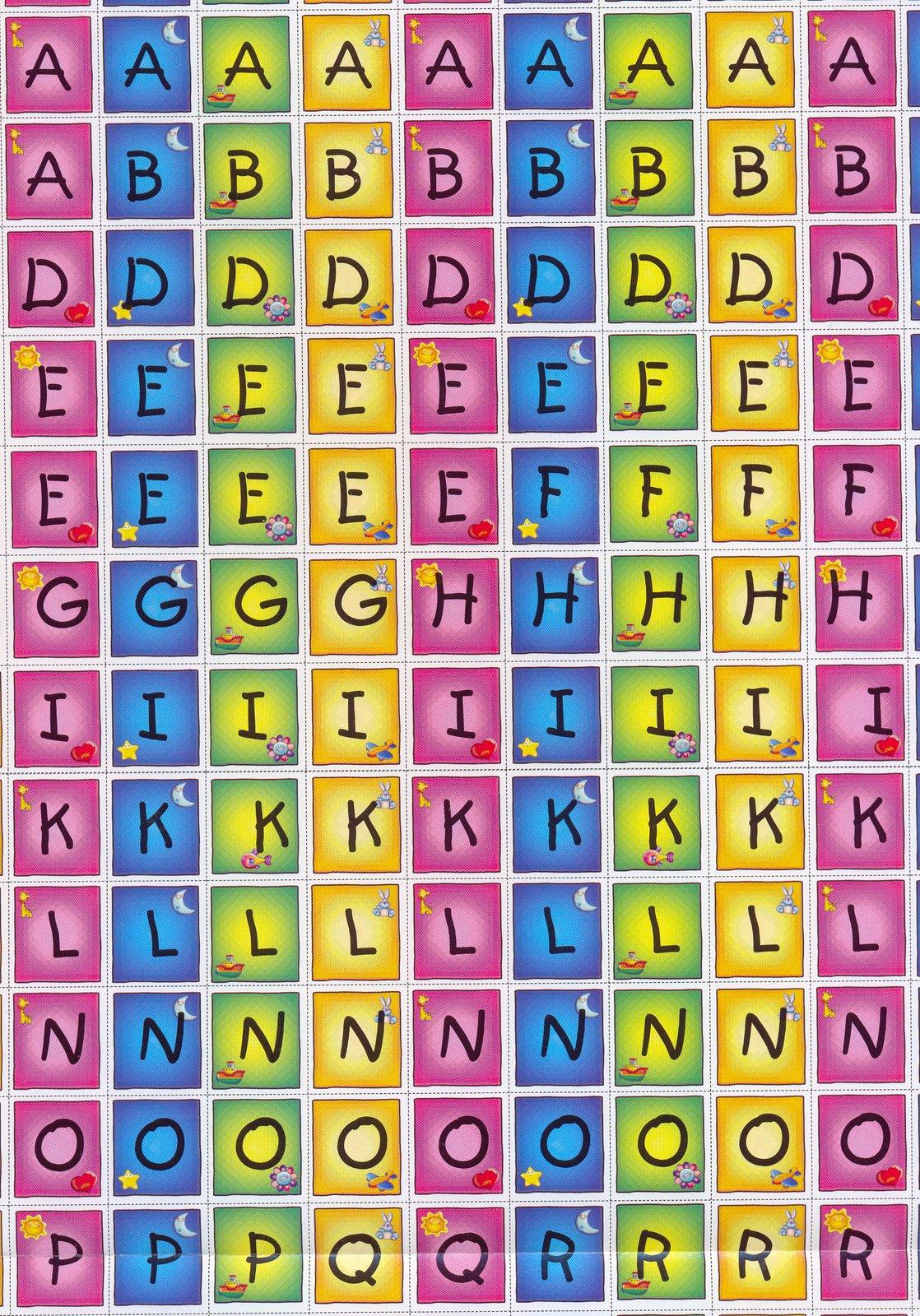 Alfabeto o Abecedario Móvil | Material para maestros