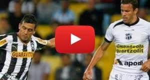 Botafogo-RJ 1 x 2 Ceará: Veja os gols da partida