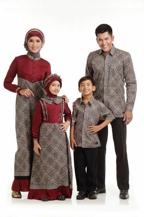 Model Busana Muslim Terbaru Untuk Keluarga