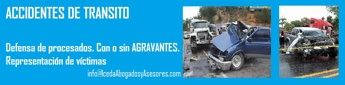 ACCIDENTES DE TRANSITO DEFENSA