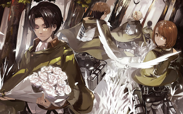 Levi Special Squad Attack on Titan 6n