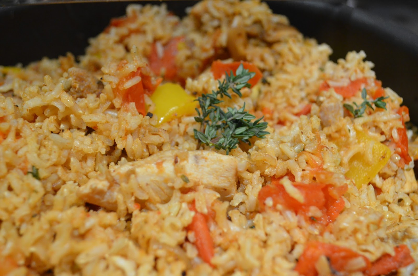 Me in the Kitchen: Poulet Jambalaya - Chicken jambalaya