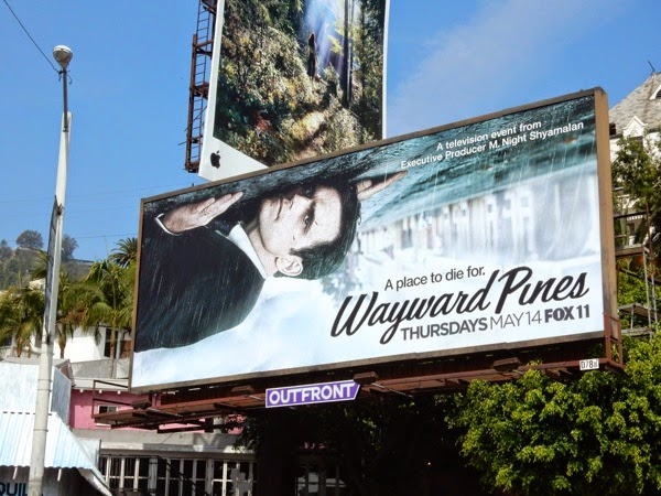 Wayward Pines series premiere billboard