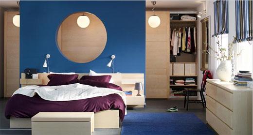 Blue sea interior designs bedroom for Sea interior design ideas