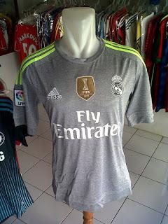 Menjual Jersey Real Madrid Away 2015/2016 di wilayah jogja, murah berkualitas