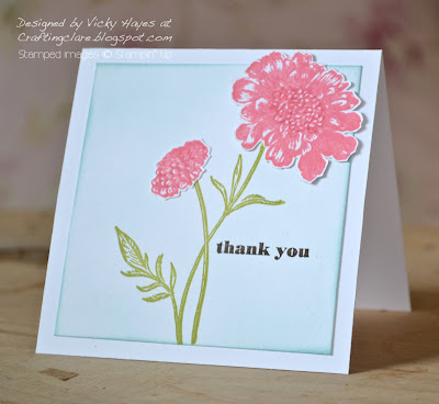 Card using Field Flowers from Stampin' Up