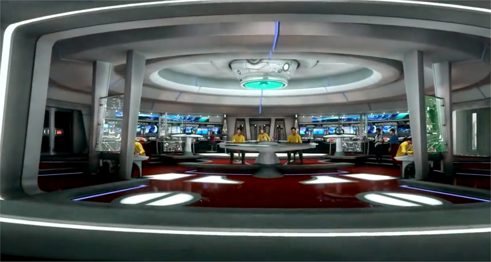 Star Trek Enterprise Brücke