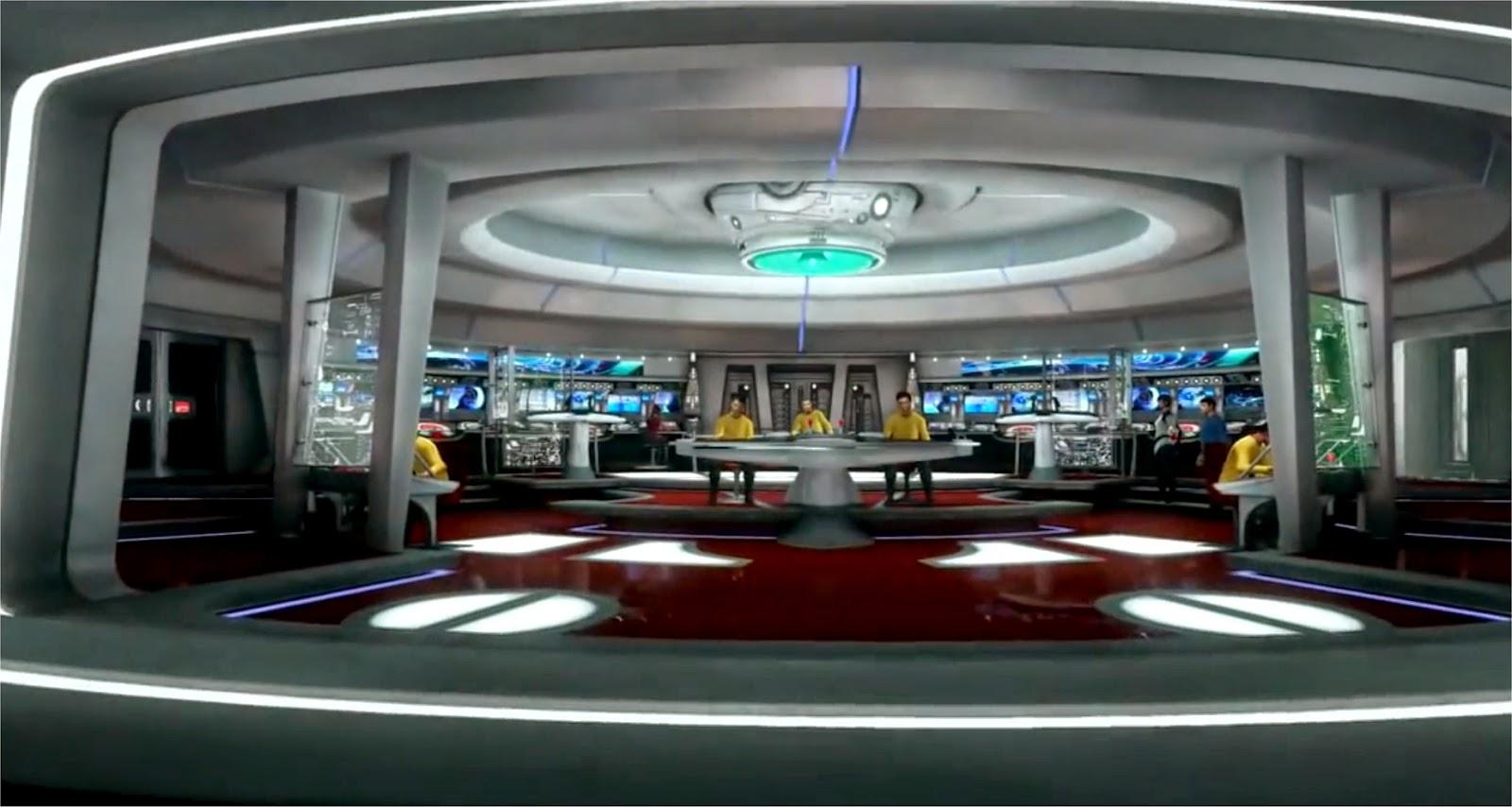 Star Trek Enterprise Brücke