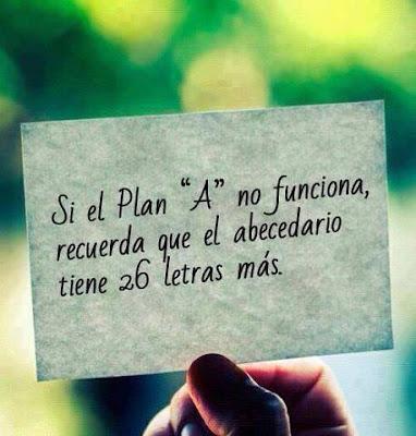Si el plan A no funciona