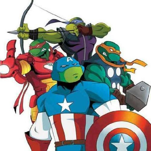 Las Tortugas Vengadoras, qué gran crossover!