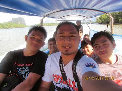 Cikgu Hailmi ke Panyee Island, Phang Nga, Thailand