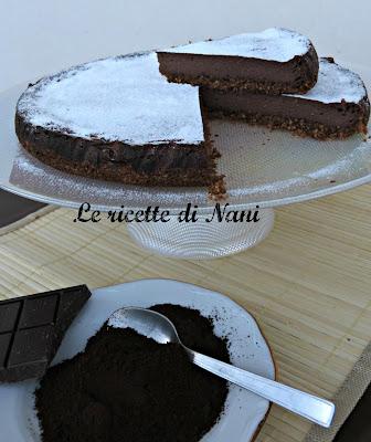 torta di ricotta caffé e cioccolato ovvero cheesecake invernale!