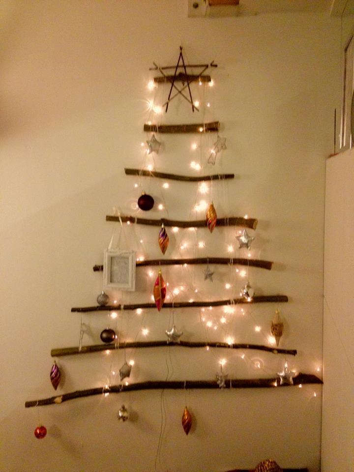 Nina love crazy diy creatieve kerstboom - Versieren van een muur in ...